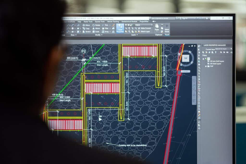CAD-Arbeiten | SVB Ingenieure